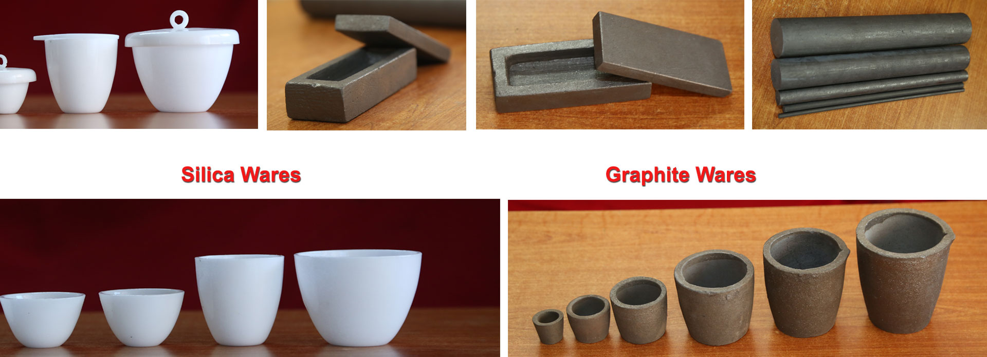 silica graphite