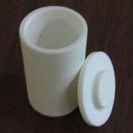 99.9% Alumina Cylindrical Shape Crucibles