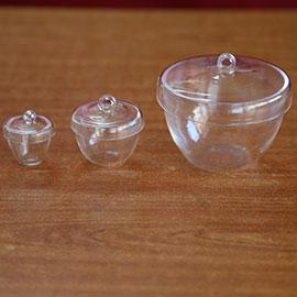 Quartz Low Form Crucibles